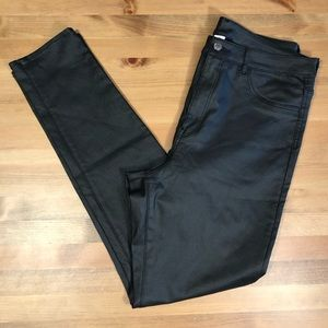 H&M | High Waisted | Faux-Leather Skinny Jeggings